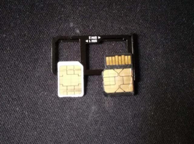 锤子坚果Pro同时装电信卡、移动卡、内存卡实操